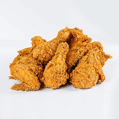 Pollo empanizado, lb