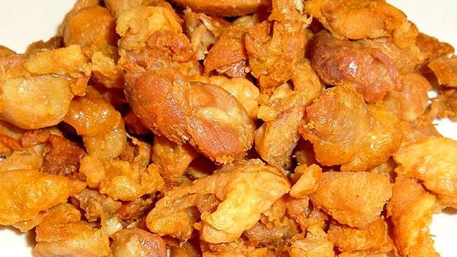 Chicharron de pollo, lb