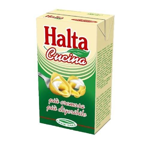 Crema de leche vegetal Halta, litro