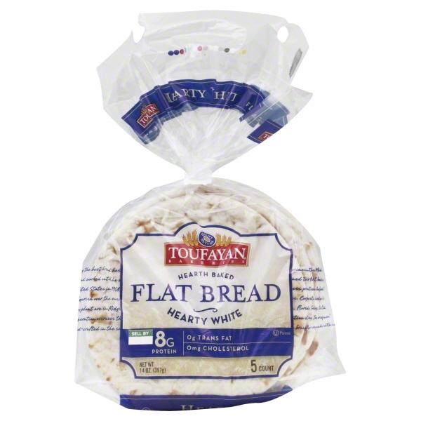 Flat bread Toufayan (paq 5 und), paq