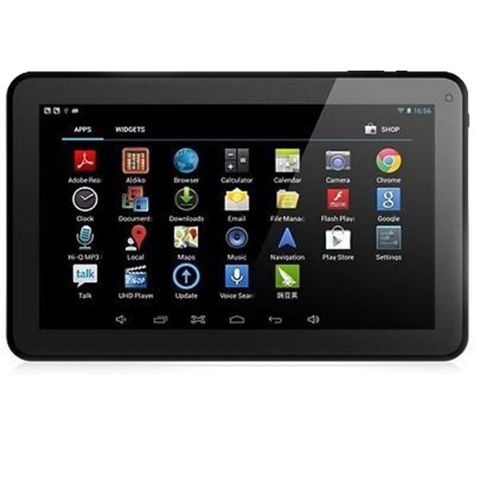 10'' GOOGLE ANDROID BLACK TABLET 16GB