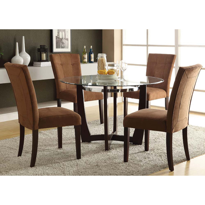 Baldwin Collection-DINING SET -Chocolate