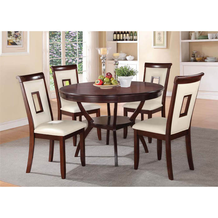 Oswell Set- Dinner Table & 4 chairs