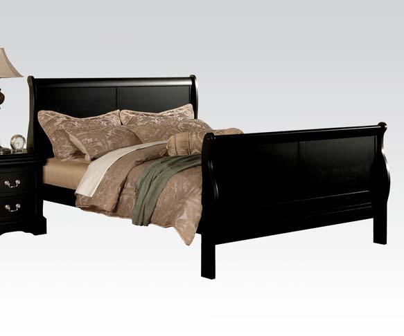 Louis Philippe III Queen Bed