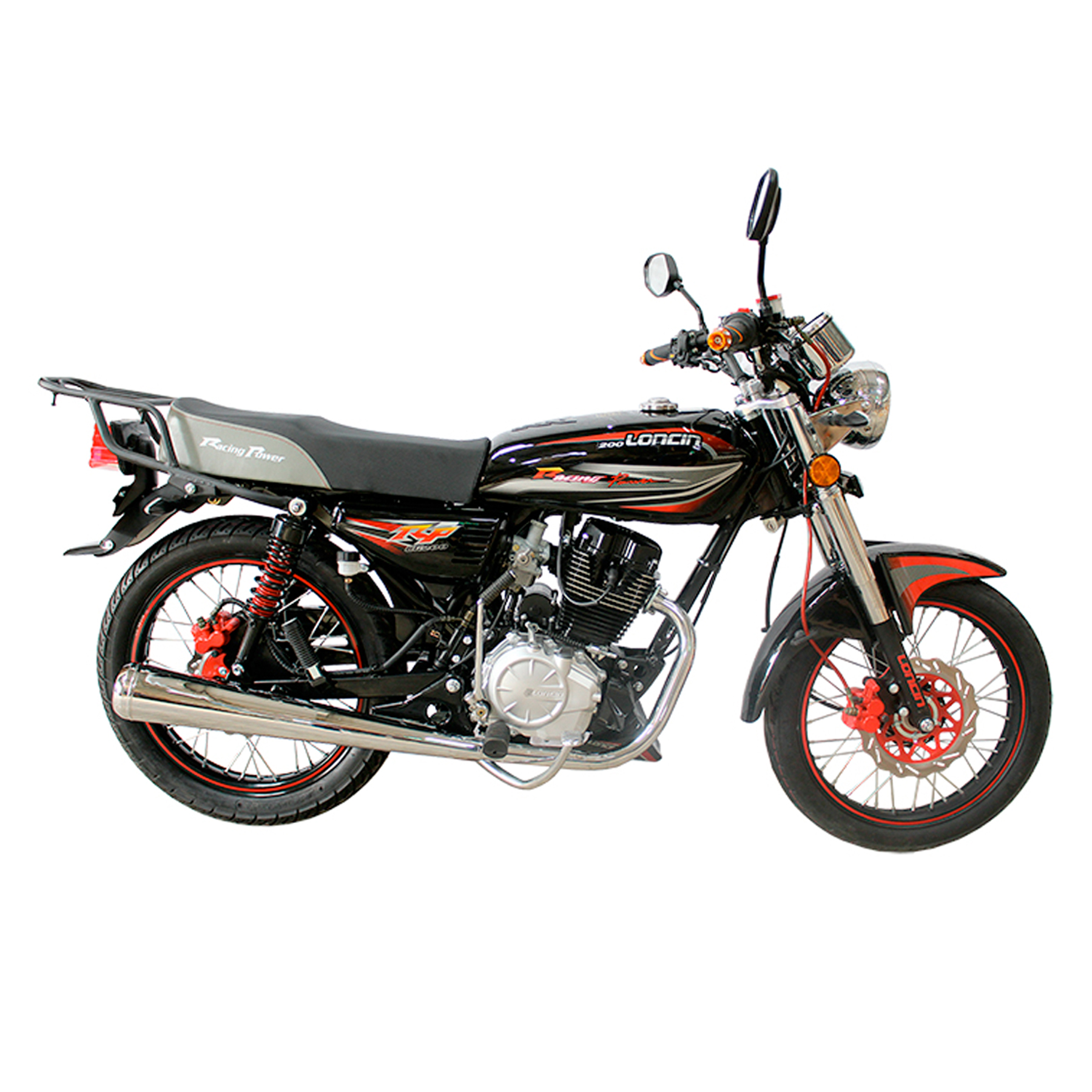MOTORCYCLE LONCIN CG 200