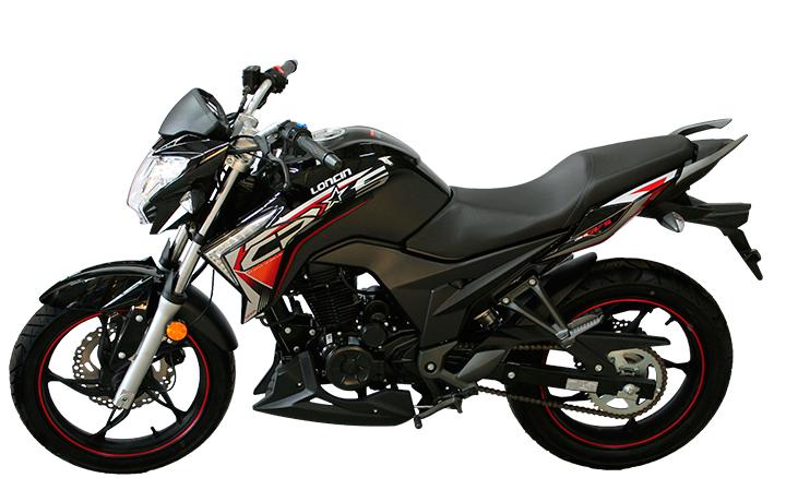 Motorcycle Loncin CR5 250