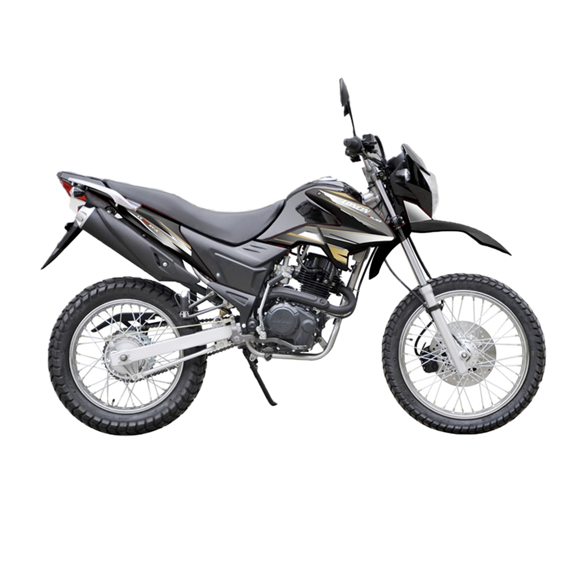 Motorcycle Loncin LX200GY 3