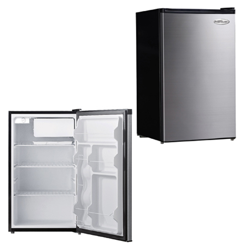 EXECUTIVE FRIDGE 4.4 'STAINLESS STEEL