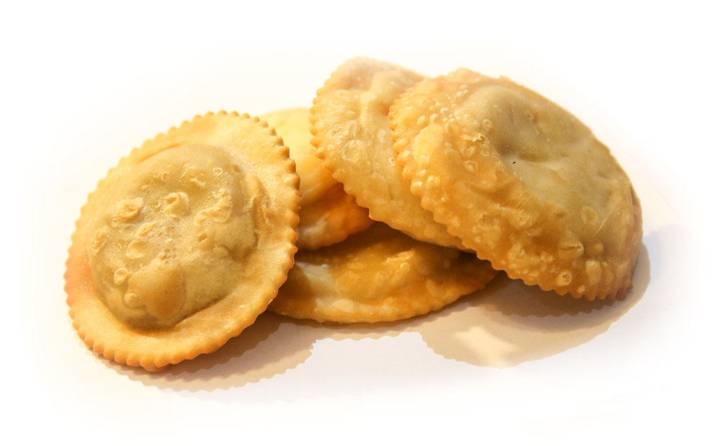 Pastelitos de carne de res (venta mínima 12und), precio por und