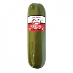 Mortadela italiana con aceituna Monells, precio por lb