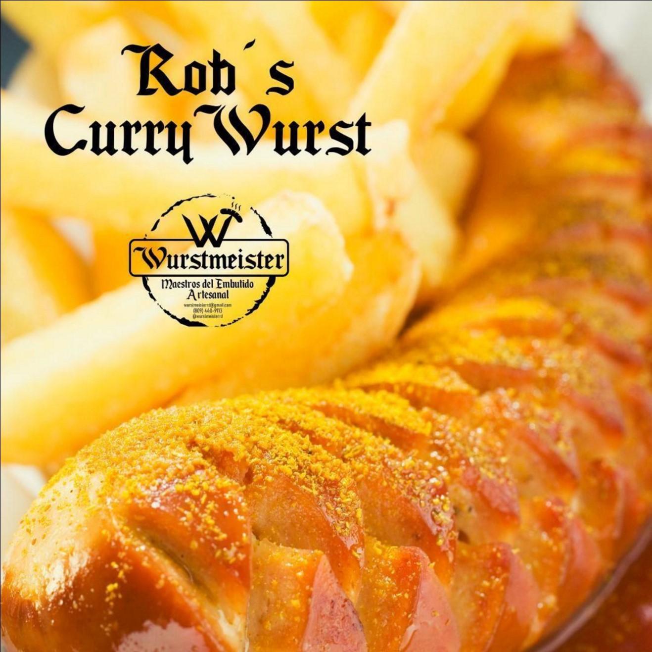 Salchicha Rob´s Currywurst Wurstmeister, lb
