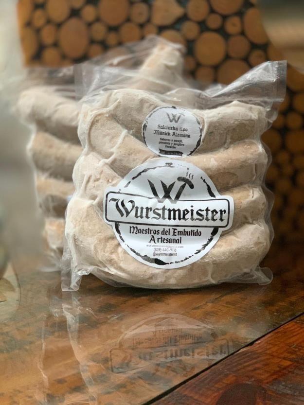 Salchicha tipo Munich (Weisswurst) Wurstmeister, lb