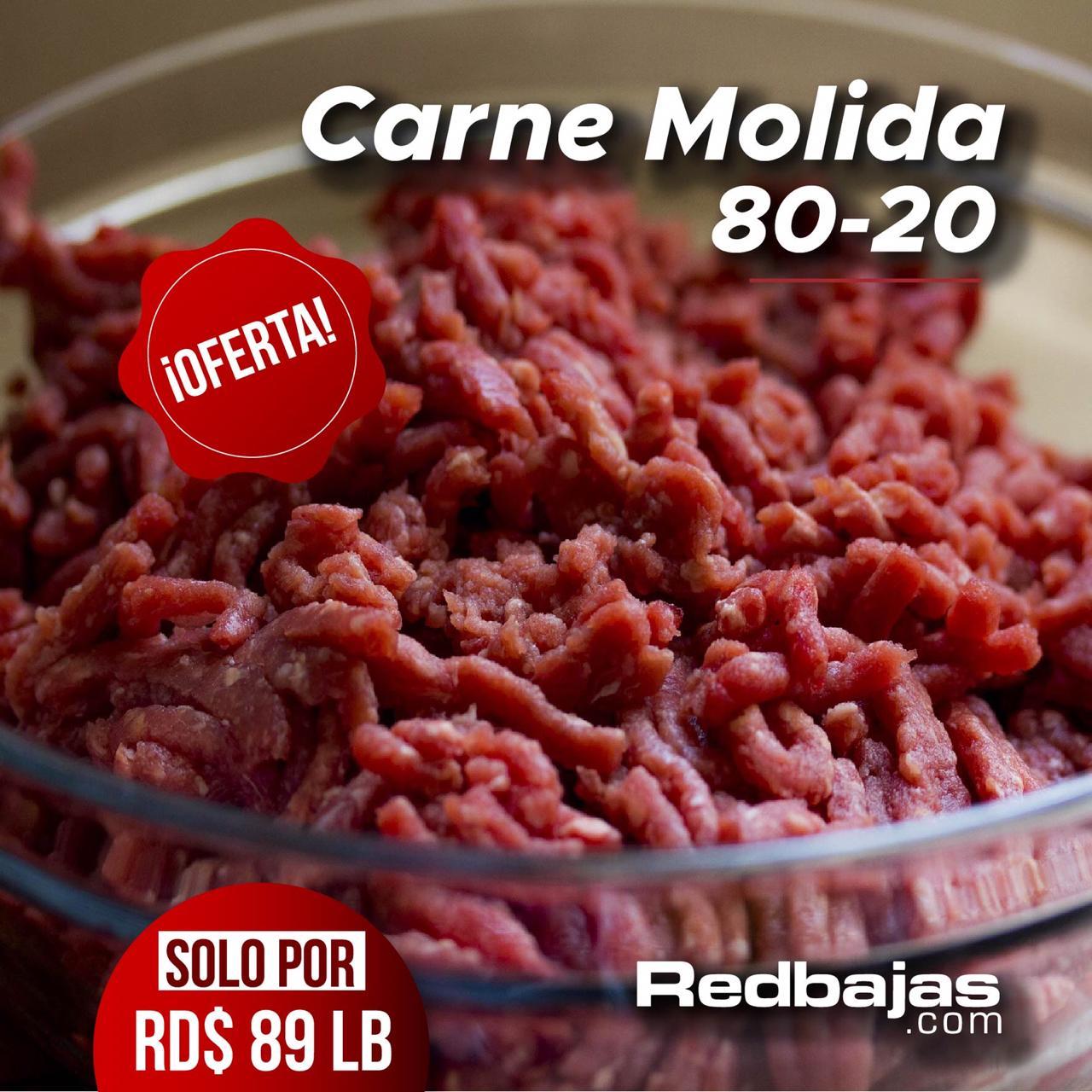 Carne molida 80-20