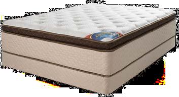 Juego de colchón La Nacional Súper Pillow Top