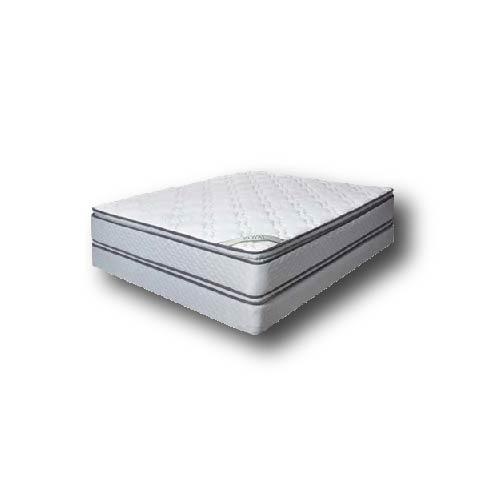 Juego de colchón La Nacional Royal Pillowtop